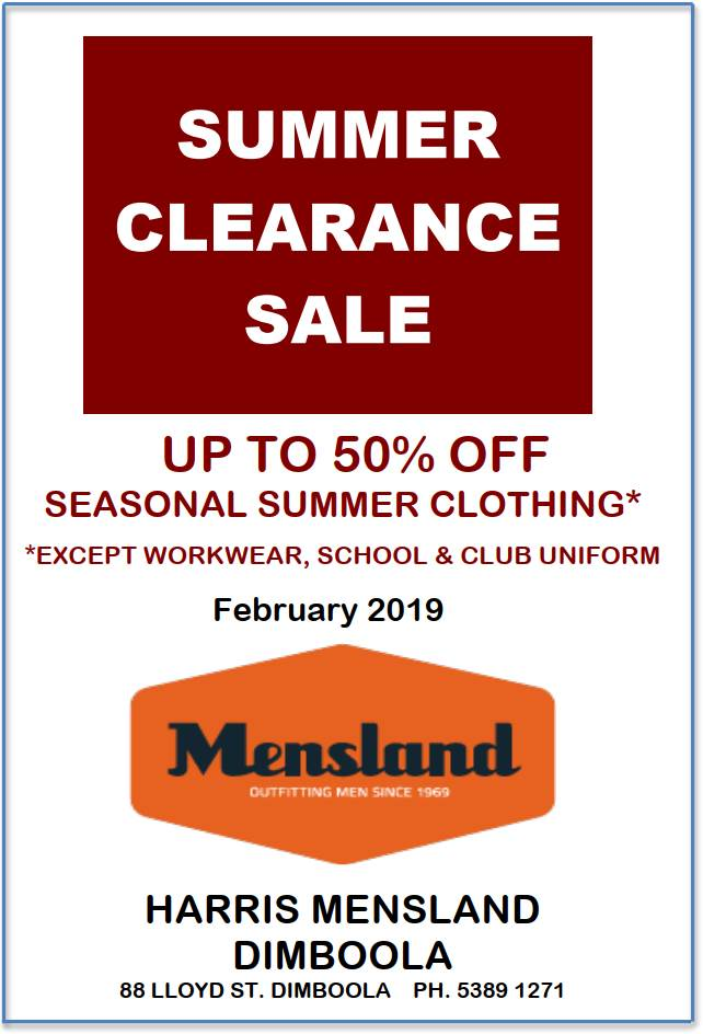 Mensland Summer Clearance