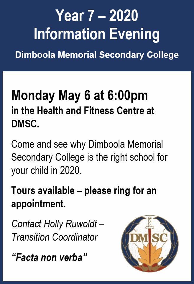 DMSC Information Night