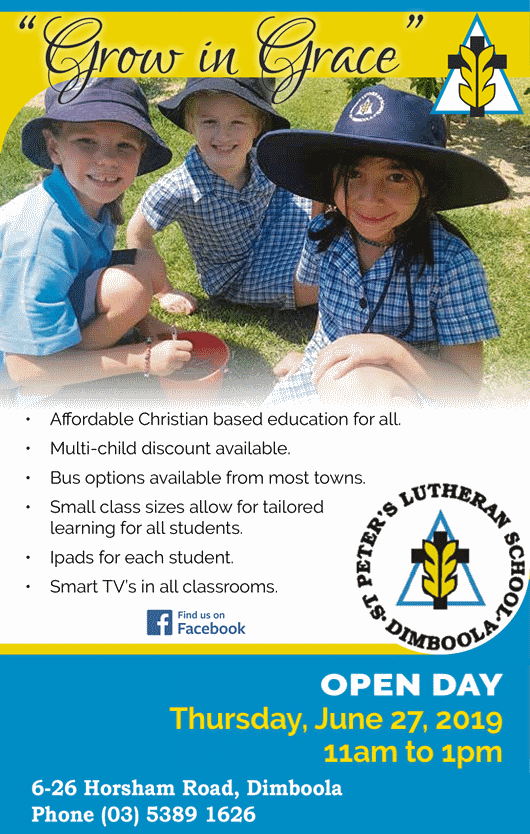 St Peter's Lutheran School Open Day