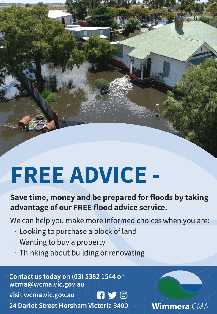 Wimmera CMA Flood Advice