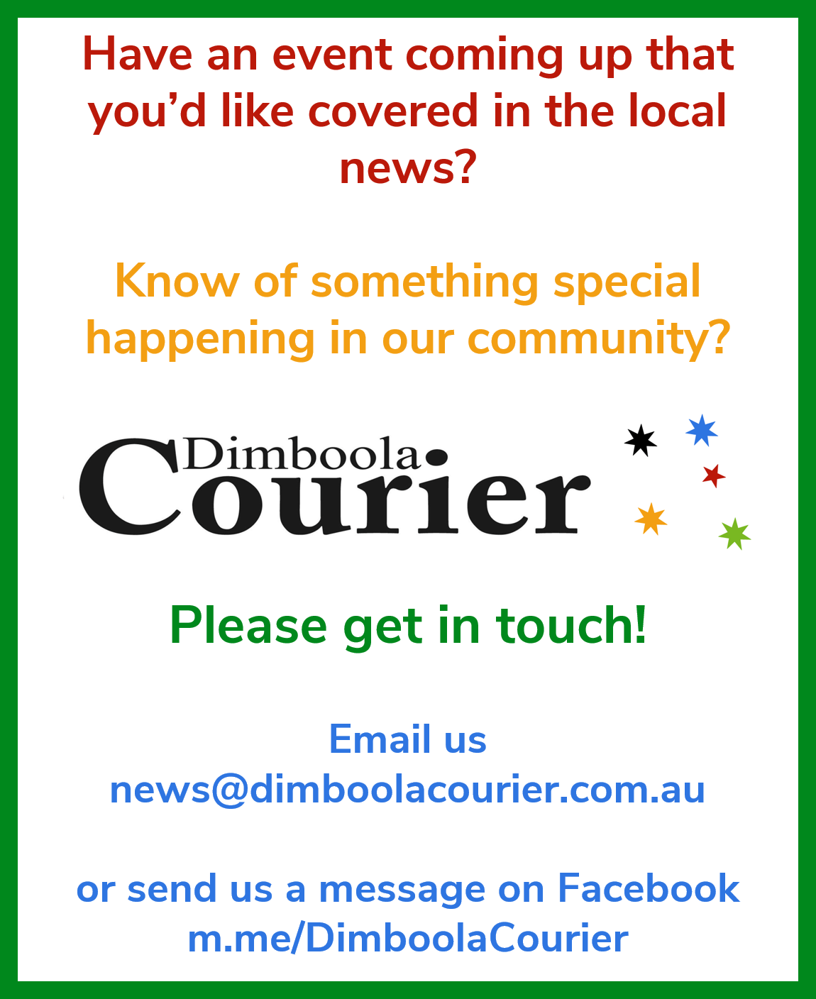 Dimboola Courier