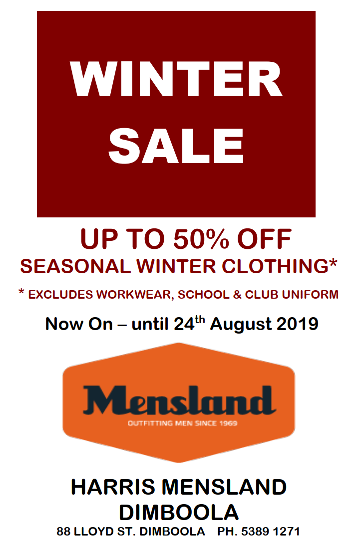 Mensland Winter Sale