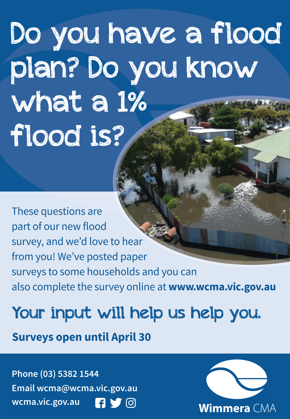 Wimmera CMA Flood Survey