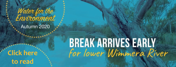 Wimmera CMA - Water for the Environment Autumn Update
