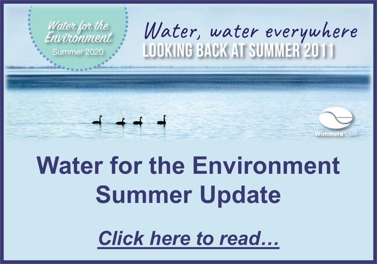 WCMA Summer Water for the Environment Update