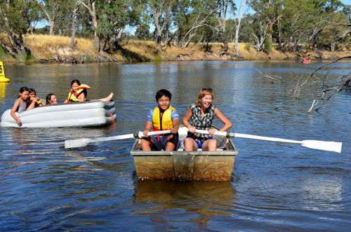 OASIS gets wet at Dimboola today