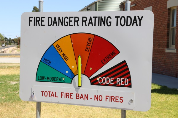 Total Fire Ban for Saturday