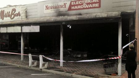 Seven years ago | Jeparit loses shops to fire
