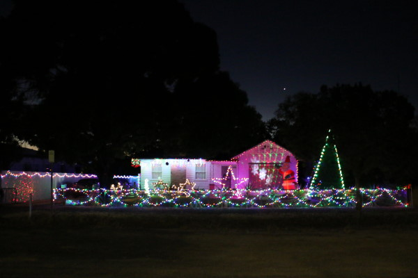 Dimboola Christmas Decorations and Lights