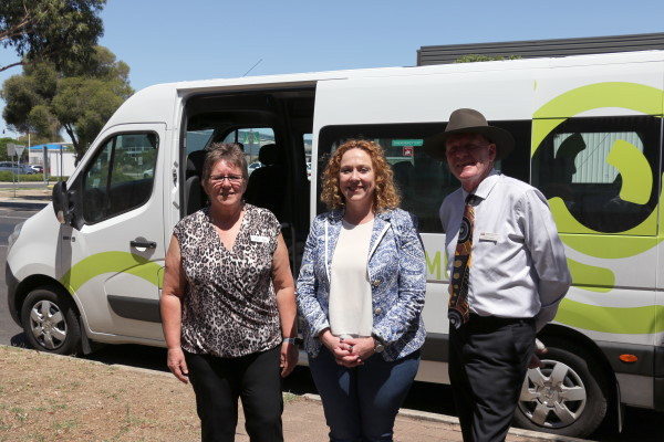Minister for Public Transport visits Wimmera