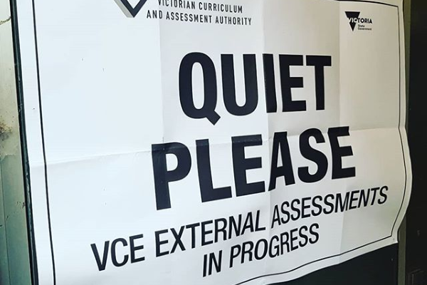 State Government confirms VCE Exams to be taken this year