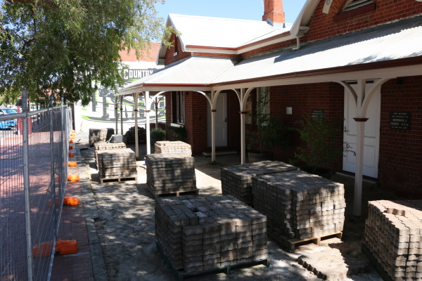 Dimboola Library landscaping works continue
