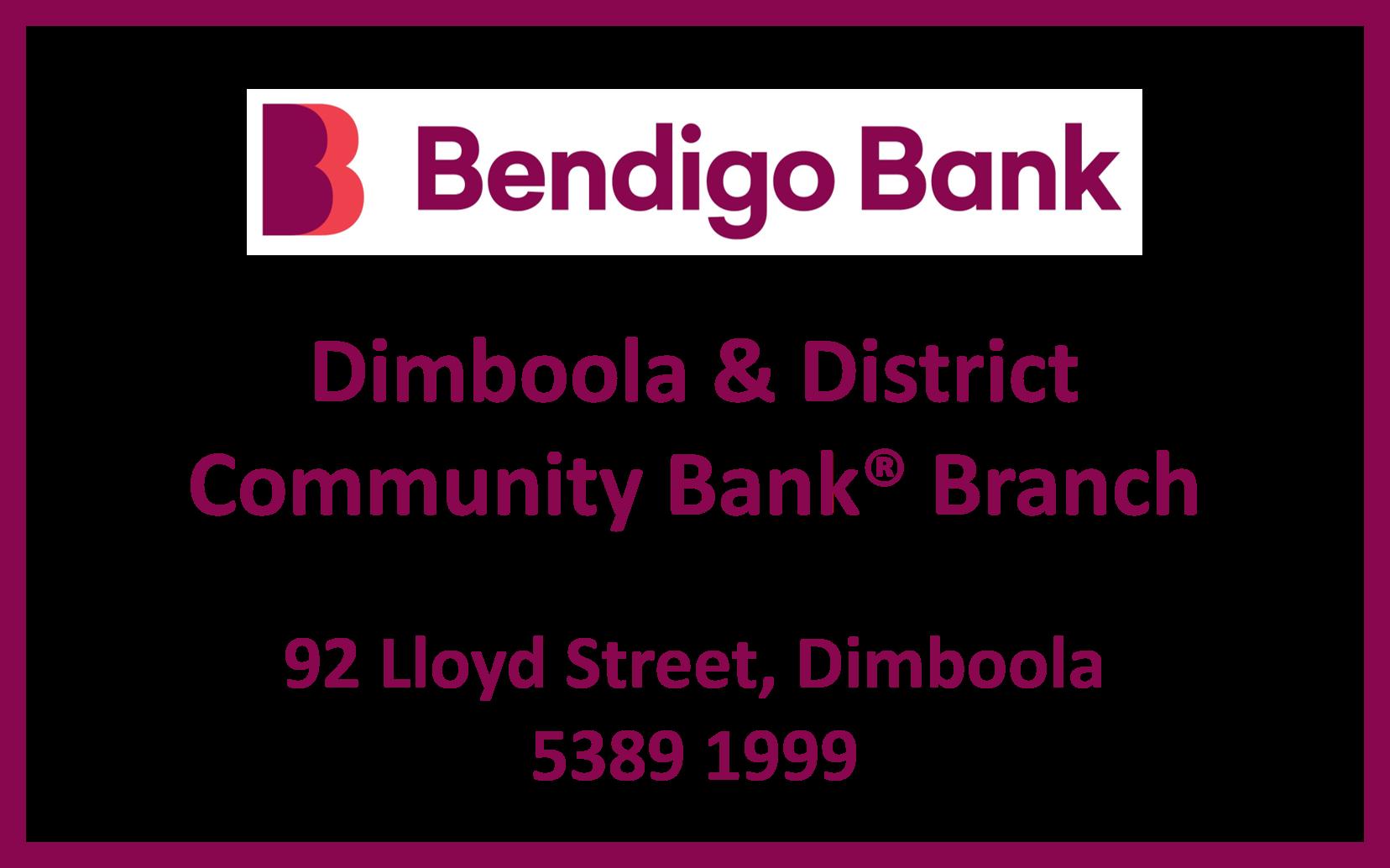 Bendigo Bank Dimboola & District Community Bank Branch